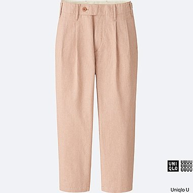 WOMEN Uniqlo U Low Waist Tapered Trousers