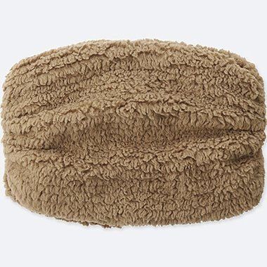 KIDS FLUFFY YARN FLEECE NECK WARMER