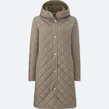 WOMEN PILE LINED FLEECE COAT