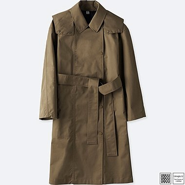 WOMEN UNIQLO U BLOCKTECH TRENCH COAT