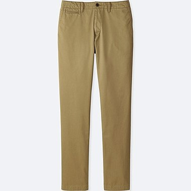 PANTALON CHINO REGULAR FIT VINTAGE HOMME (L34)