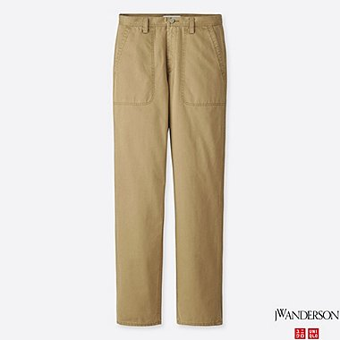 MEN JWA WORK PANTS, BROWN, medium