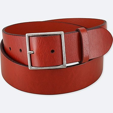 WOMEN VINTAGE WIDE BELT, BROWN, medium