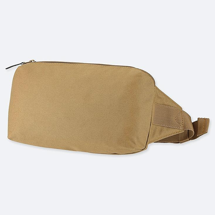SINGLE-STRAP BACKPACK, BROWN, large
