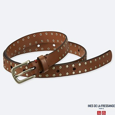 WOMEN INES VINTAGE STUDDED BELT