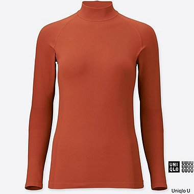 DAMEN Uniqlo U Rash Guard Stehkragen