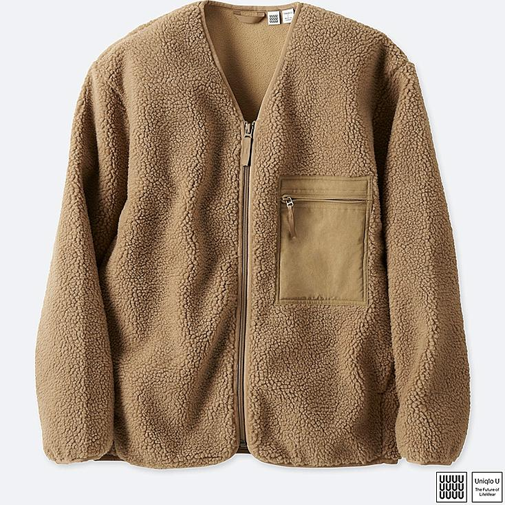 MEN U FLEECE CARDIGAN | UNIQLO US