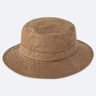 CAMP HAT, BROWN, medium