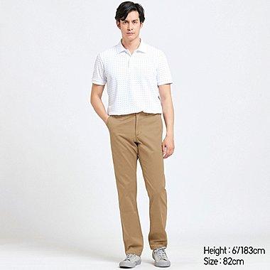 MEN VINTAGE REGULAR-FIT CHINO FLAT-FRONT PANTS, BROWN, medium