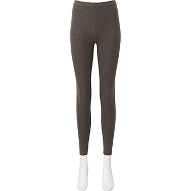 WOMEN LEGGINGS, BROWN, medium