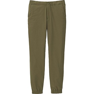 MEN BLOCKTECH WARM-LINED STRETCH SLIM FIT PANTS, BROWN, medium