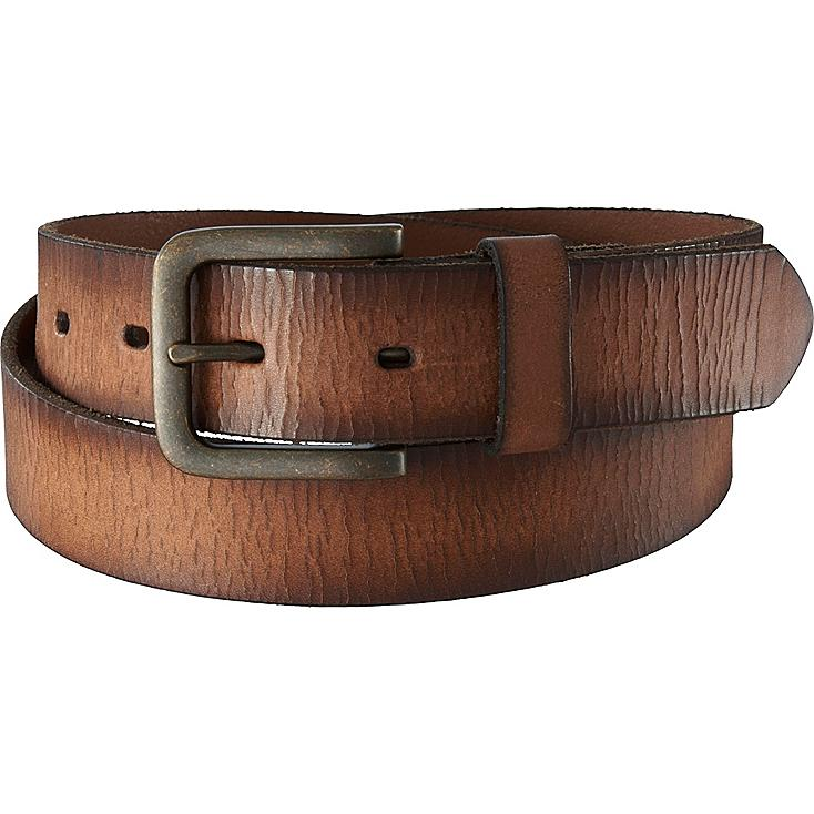 MEN Italian Cracked Leather Belt