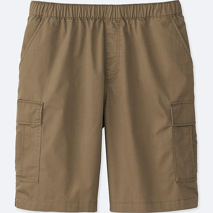 MEN CARGO SHORTS, BROWN, large