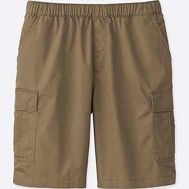MEN CARGO SHORTS, BROWN, medium