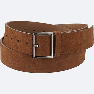 WOMEN Suede Wide Belt