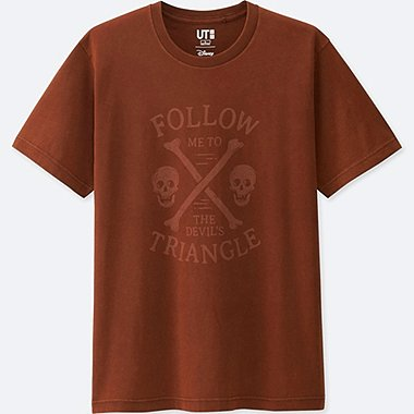 Pirates Of The Caribbean Graphic T-Shirt, BROWN, medium