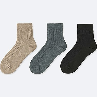 WOMEN SOCKS (3 PAIRS) (LINKS)