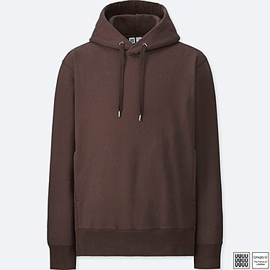MEN UNIQLO U LONG SLEEVED PULLOVER HOODIE