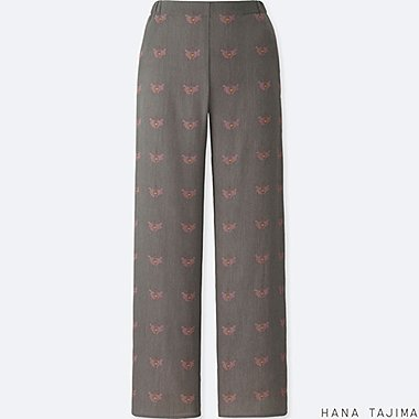WOMEN HANA TAJIMA PRINT RELAXED TROUSERS
