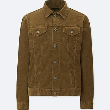 MEN CORDUROY TRACKER JACKET