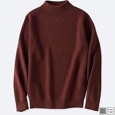 MEN UNIQLO U MERINO BLENDED High NECK SWEATER