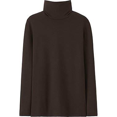 HEATTECH Extra Warm WOMEN Turtle Neck T-Shirt