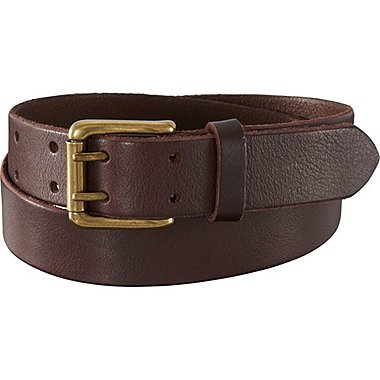 MEN Italian Leather Double Hole Belt