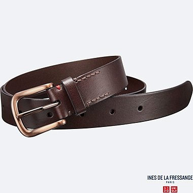 WOMEN INES Wide Leather Belt