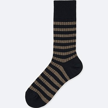 MEN RIB STRIPED SOCKS