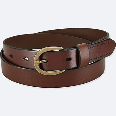 WOMEN LEATHER STITCHED BELT