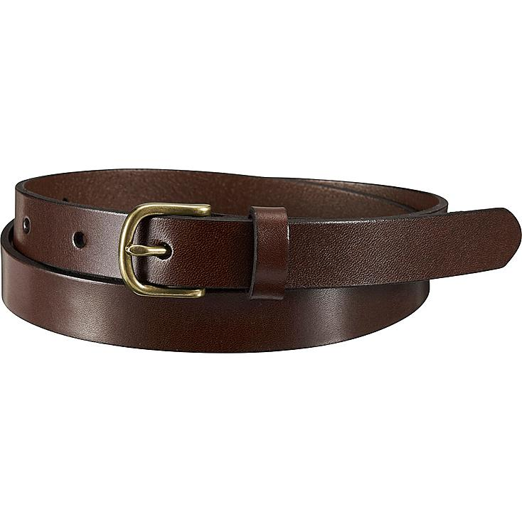 WOMEN MEDIUM GLOSS BELT, DARK BROWN, large