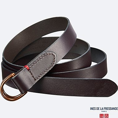WOMEN INES D-Ring Narrow Belt