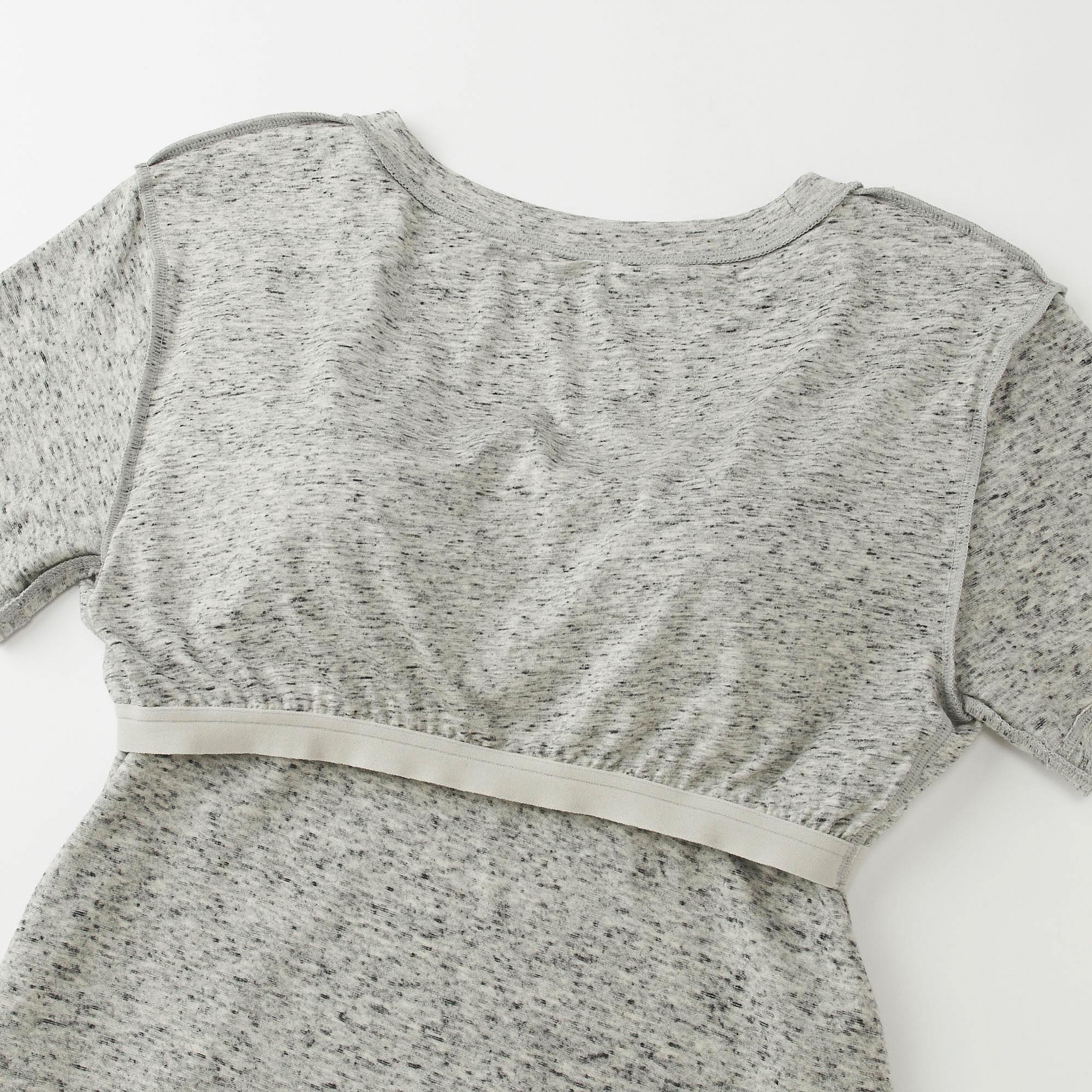 ecc0324213203 Uniqlo WOMEN Short Sleeve Long Bra Dress at £24.9