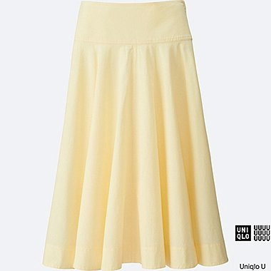 WOMEN Uniqlo U Seersucker Round Skirt