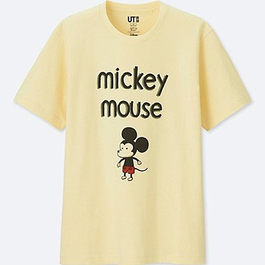 MICKEY ART UT JEFFREY BROWN (SHORT-SLEEVE GRAPHIC T-SHIRT), CREAM, medium