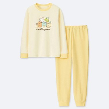 GIRLS SUMIKKOGURASHI LONG SLEEVED LOUNGE SET