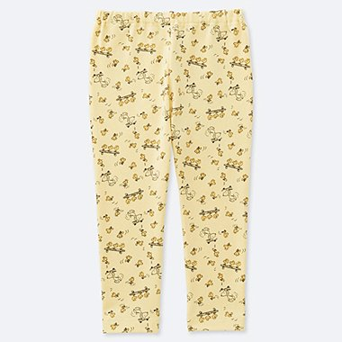 BABIES TODDLER PEANUTS PRINTED LEGGINGS