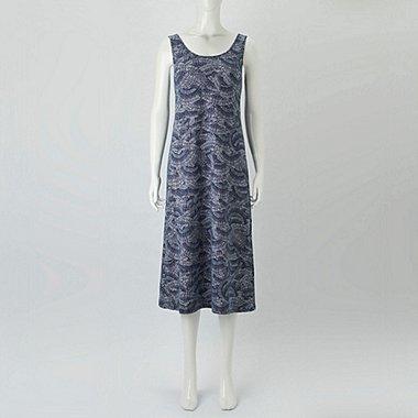 a62a13e964253 WOMEN HAWAII GRAPHIC SLEEVELESS BRA DRESS
