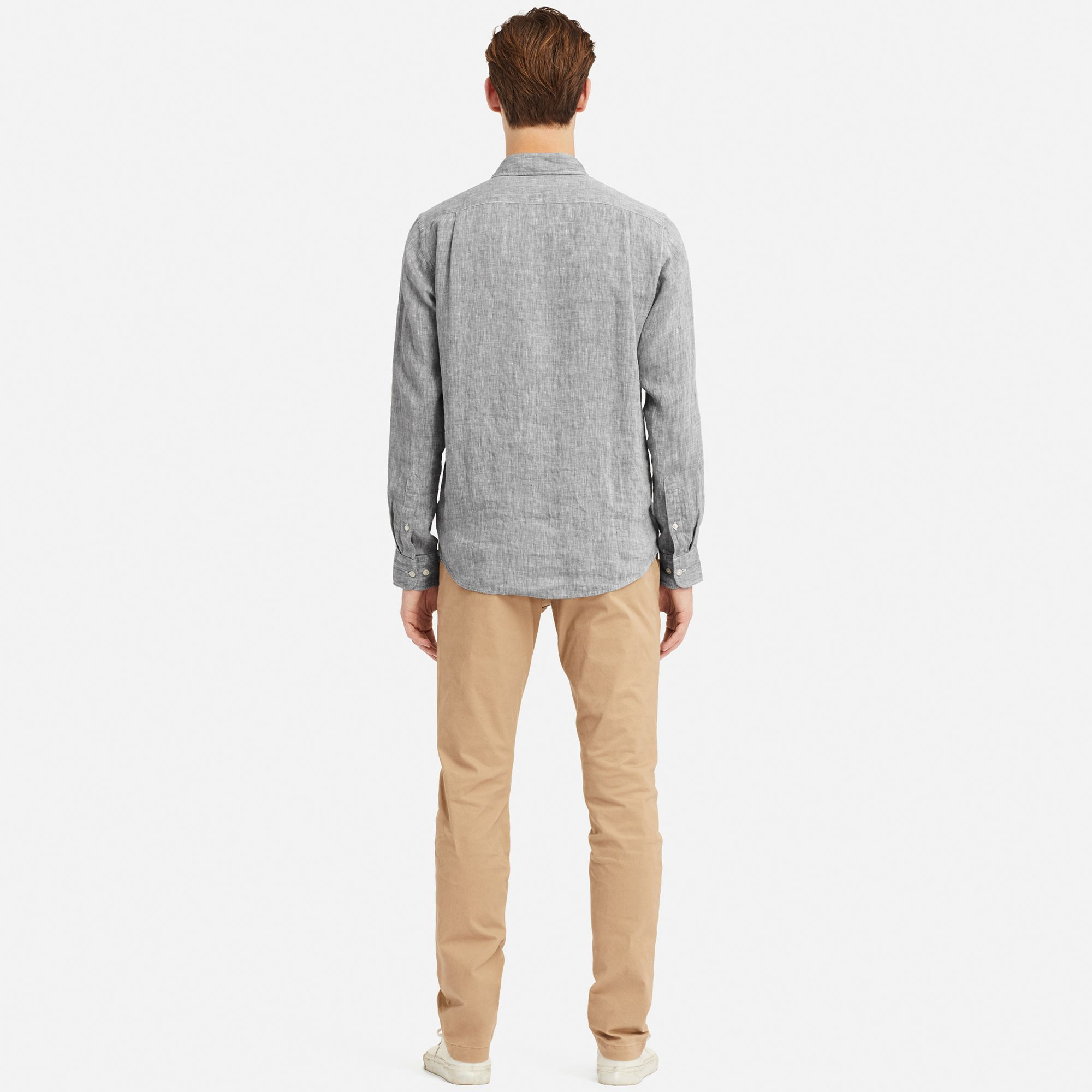 3acd4b7f6bc Uniqlo Premium Linen Long Sleeve Shirt – EDGE Engineering and ...