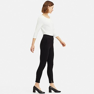women ribbed leggings pants