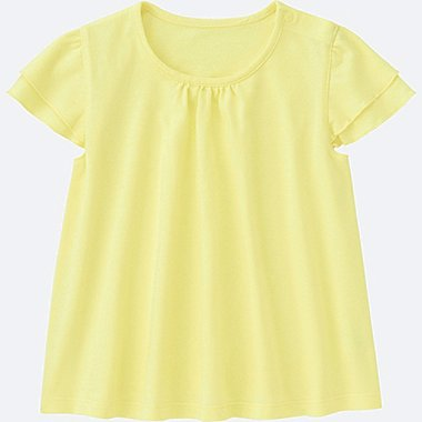 BABIES TODDLER Frill Short Sleeve T-Shirt