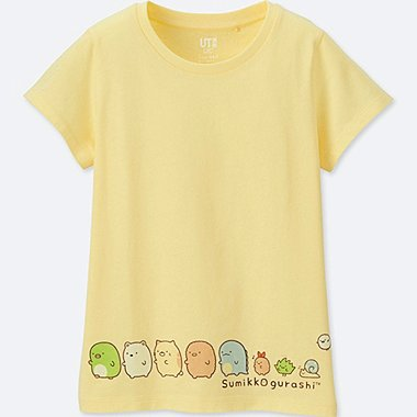 GIRLS SUMIKKO GURASHI GRAPHIC T-SHIRT