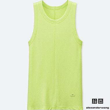 MEN ALEXANDER WANG HEATTECH RIBBED TANK TOP