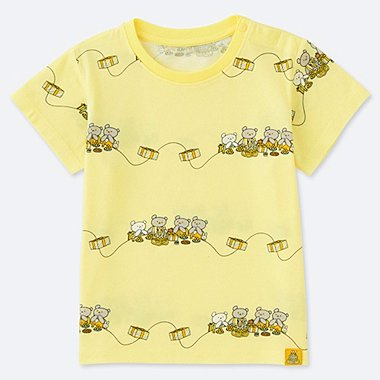 TODDLER The Picture Book UT (SHORT-SLEEVE GRAPHIC T-SHIRT), YELLOW, medium
