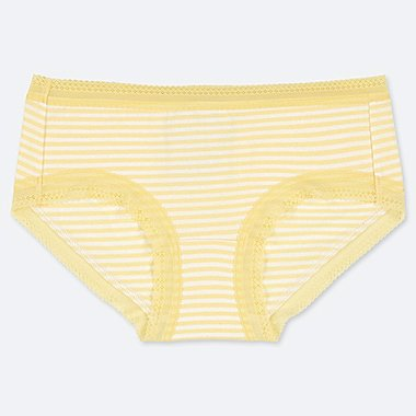 WOMEN HIPHUGGER STRIPED PRINT BRIEFS