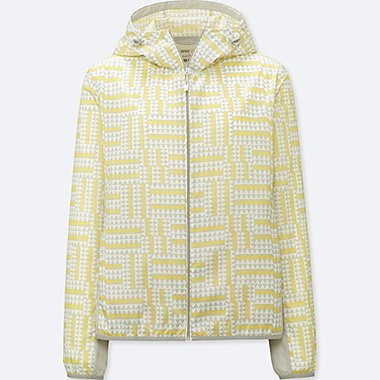 WOMEN SPRZ NY POCKETABLE PARKA (FRANCOIS MORELLET), YELLOW, medium