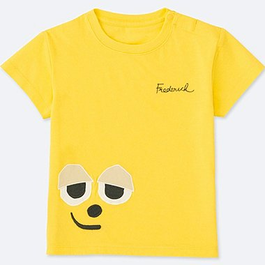 TODDLER THE PICTURE BOOK SHORT-SLEEVE GRAPHIC T-SHIRT, YELLOW, medium
