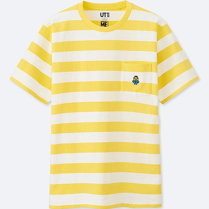 MINIONS SHORT-SLEEVE GRAPHIC T-SHIRT, YELLOW, large