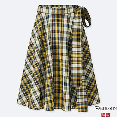 WOMEN J.W.ANDERSON HIGH WAIST FLARE SKIRT