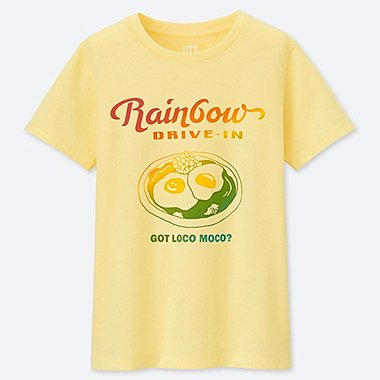 KIDS THE BRANDS HAWAIIAN LOCO UT (SHORT-SLEEVE GRAPHIC T-SHIRT), YELLOW, medium